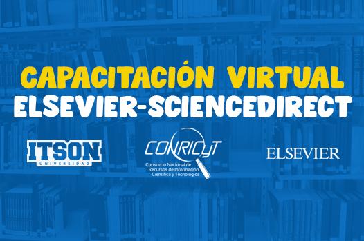 Ofrece la editorial Elsevier capacitación sobre ScienceDirect