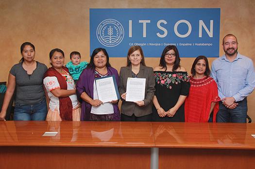 3d96a97e93 El Instituto Tecnológico de Sonora (ITSON) y el Grupo AAKI-NAWA